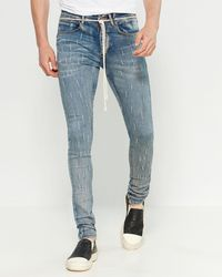 KOLLAR - Splinter Denim Jeans - Lyst