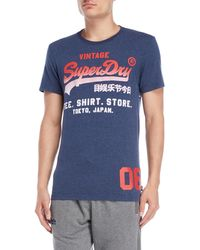 Superdry - Faded Graphic Logo Tee - Lyst