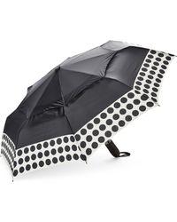Shedrain - Black Spot Auto Open Umbrella - Lyst