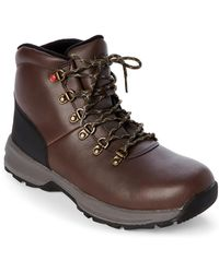 UGG - Stout & Black Holmar Waterproof Boots - Lyst