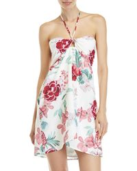 6 Shore Road By Pooja - Ocean Club Floral Halter Dress - Lyst