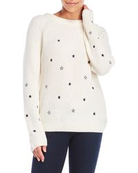 Love Tree - Embroidered Star Sweater - Lyst