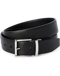 Cole Haan - Black Reversible Harness Belt - Lyst