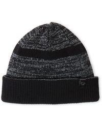 True Religion | Striped Knit Beanie | Lyst