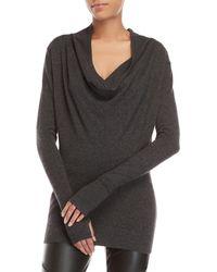 Nicholas K - Cashmere Cowl Neck Sweater - Lyst