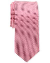 Calvin Klein - Infinite Pindot Silk Tie - Lyst