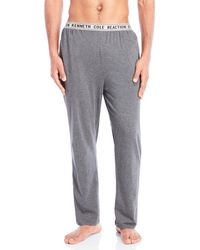 Kenneth Cole - Knit Pajama Pants - Lyst