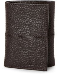 Cole Haan - Leather Tri-fold Wallet - Lyst