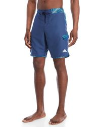 adidas - Tri Palms Swim Trunks - Lyst