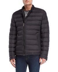 GAUDI - Quilted Asymmetrical Zip Jacket - Lyst