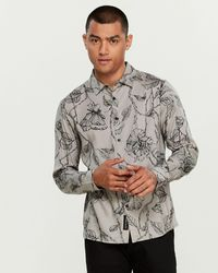 Native Youth - Intricate Floral Shirt - Lyst