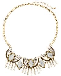 Catherine Stein - Gold-Tone Multiple Accented Necklace - Lyst