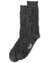 Original Penguin - Logan Textured Knit Crew Socks - Lyst