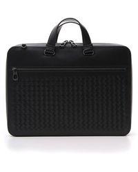 Bottega Veneta Intrecciato Top Handle Briefcase