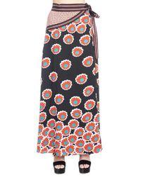 cf163edeb0 Diane von Furstenberg Geri Pencil Skirt in Black - Lyst