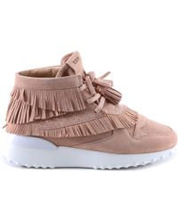 Tod's - Suede Tassel Trainers - Lyst