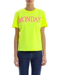 Alberta Ferretti - Rainbow Week Monday T-shirt - Lyst