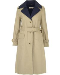 Tory Burch - Ashby Cotton Trench Coat - Lyst