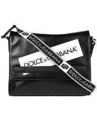 Dolce & Gabbana - Logo Messenger Bag - Lyst