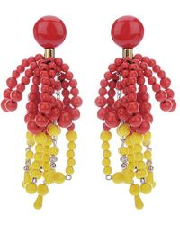 Marni - Faux Pearl Earrings - Lyst