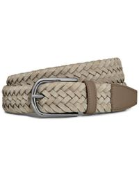 Tod's - Braided Belt - Lyst