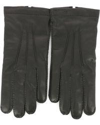 Ferragamo - Button Gloves - Lyst