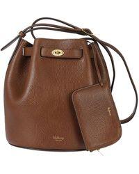 08f56cb8cd Mulberry Abbey Bucket Bag in Black - Lyst