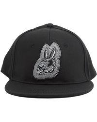 McQ - Embroidered Rabbit Snapback Hat - Lyst