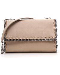 a6909bef12 Lyst - Stella McCartney Falabella Crossbody Bag in Natural