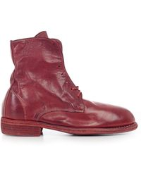 Guidi - Distressed Boots - Lyst