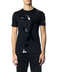 Dior Homme - Patent Striped T-shirt - Lyst