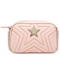 Stella McCartney - Stella Star Alter Nappa Shoulder Bag - Lyst e1e7f0fa36c68