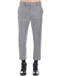 Haider Ackermann Houndstooth Pattern Trousers