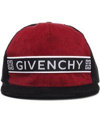 19dcf539576 Versace Velvet Crown Baseball Cap in Red for Men - Lyst