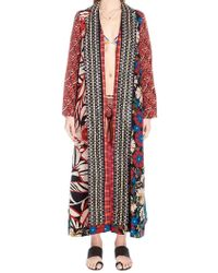 Anjuna - Reversible Patchwork Kimono - Lyst