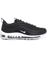 adeef155e7cb Lyst - Nike Air Max 97 Mesh And Leather Sneakers in Black for Men