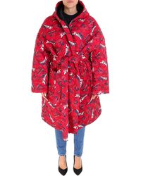 Vetements - Spiderman Oversized Quilted Coat - Lyst