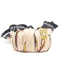 Balenciaga - Silk Scarf Bracelet - Lyst