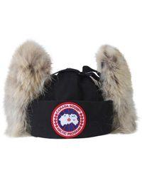 Canada Goose Aviator Hat - Black