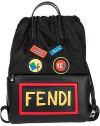 Fendi - Rucksack Backpack Travel - Lyst