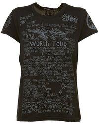 Givenchy - World Tour Print T-shirt - Lyst