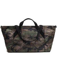 Valentino - Vltn Camouflage Tote Bag - Lyst