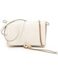 Stella McCartney - Snake Skin Print Shoulder Bag - Lyst