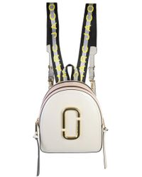 Marc Jacobs - Pack Shot Strap Saffiano Leather Backpack - Lyst