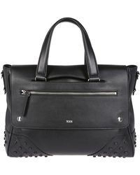 Tod's - Studded Carry Bag - Lyst