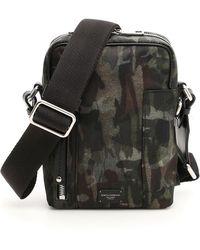f498aad942 Dolce & Gabbana Nylon Messenger Bag in Natural for Men - Lyst