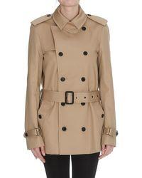2a349bfcd13 Women's Saint Laurent Raincoats and trench coats Online Sale - Lyst