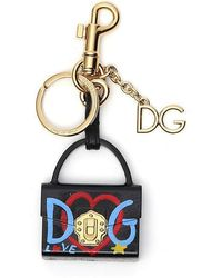 Dolce & Gabbana - Bag Keyring - Lyst