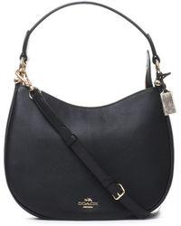 COACH - Hobo Leather Shoulder Bag - Lyst