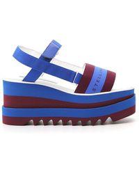 Stella McCartney Sneakelyse Flatform Sandals